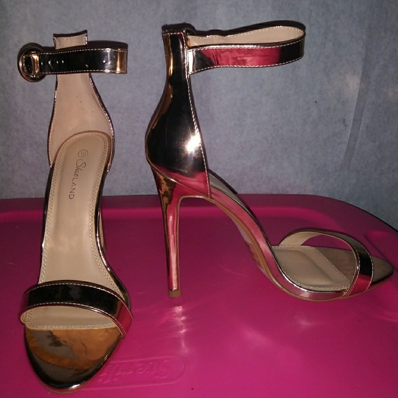 c0c9c1ba72f47 Rose gold heels bought from amazon